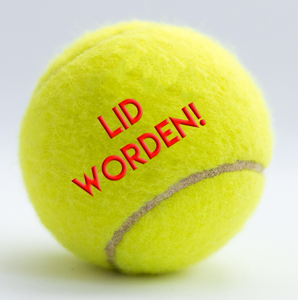 Lidworden button
